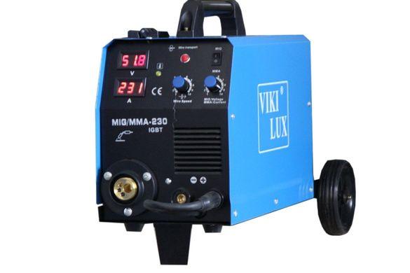 Телоподаващо 230А с електрожен MIG/MMA Viki Lux професионално