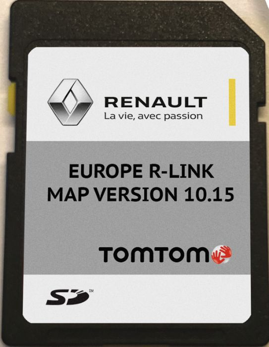 RENAULT TomTom R-LINK V10.15 SD CARD MAP 2020год. сд карта
