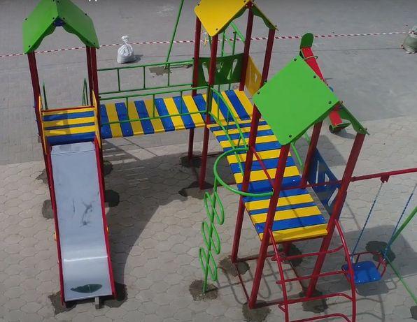 Детские площадки, качели, карусели