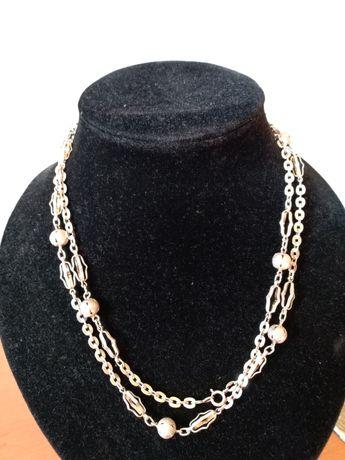 Lant, colier, vechi argint 800 provenienta franta, deosebit