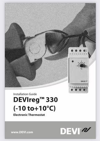 Termostat centrala DEVIreg 330 Danfoss-10/+10 grade celsius