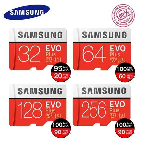 Карта память Micro SDXC  Samsung, Orico, Lexar