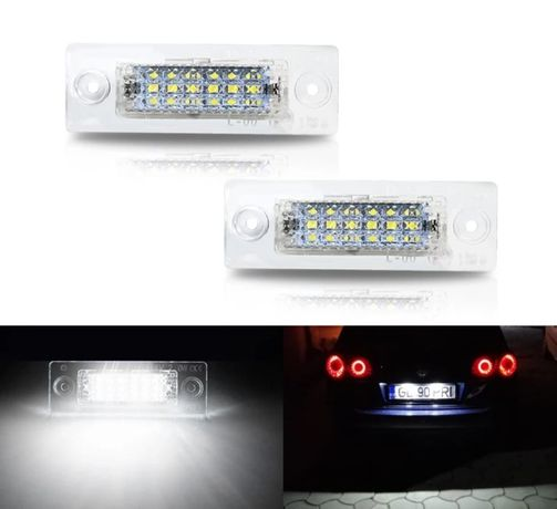 Lampi Numar LED VW Touran Caddy Golf Plus Passat Transporter Jetta