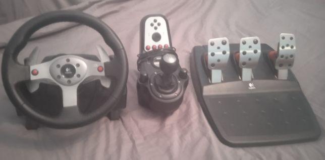 Игровой руль , Logitech g27