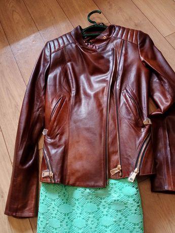 Продам новую кожаную куртку