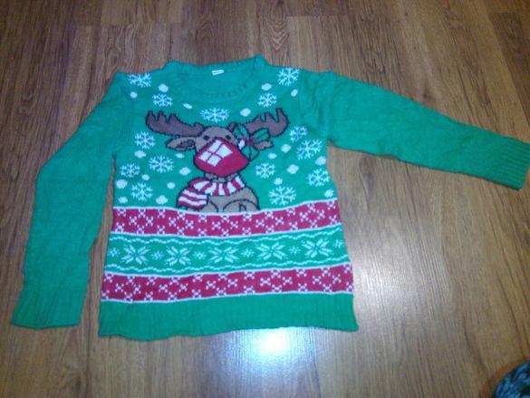 Коледни пуловери детски
