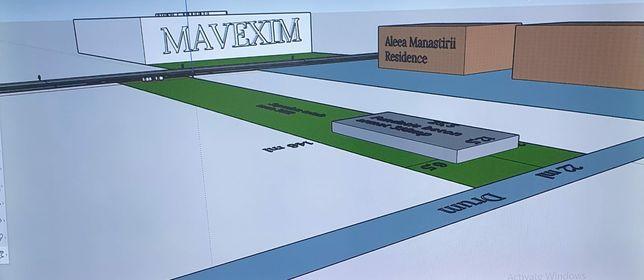 Ocazie!! Teren construcții vis a vis de Mavexim.