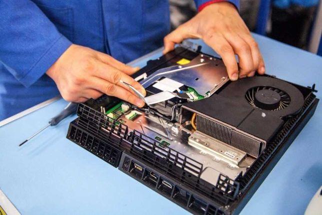 Ремонт приставок Сони Плейстейшн ПС 3 4 5 ПС3 ПС4 ПС5 Playstation 3 4