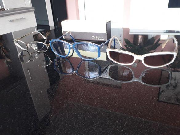 Маркови рамки за диоптрични очила Siluetthe,Fossil,Joop и титаниеви
