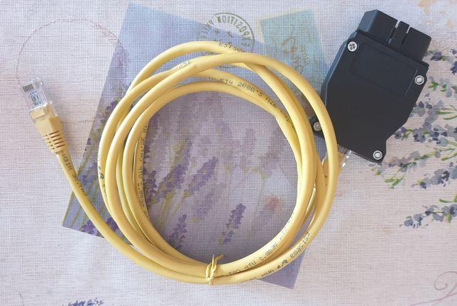 Tester diagnoza auto ENET BMW Interfata+Cablu Ethernet