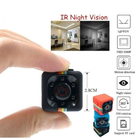Шпионска цветна мини камера SQ11-FULL HD