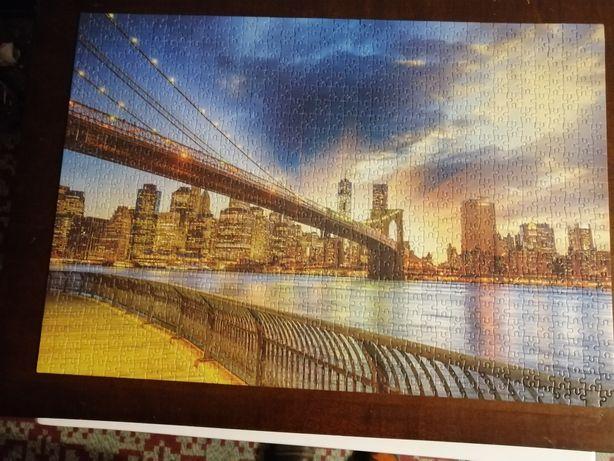 Vând puzzle 5 bucăți noi și lipite