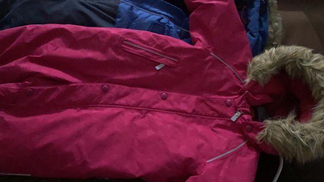 Reima куртки для девочки и мальчика