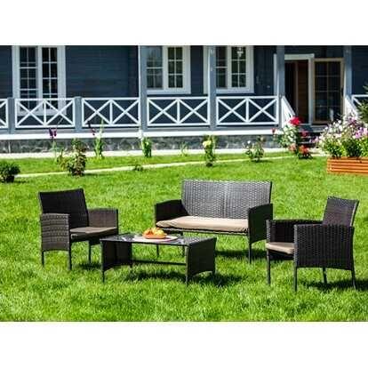 Набор садовой мебели искусственный ротанг
