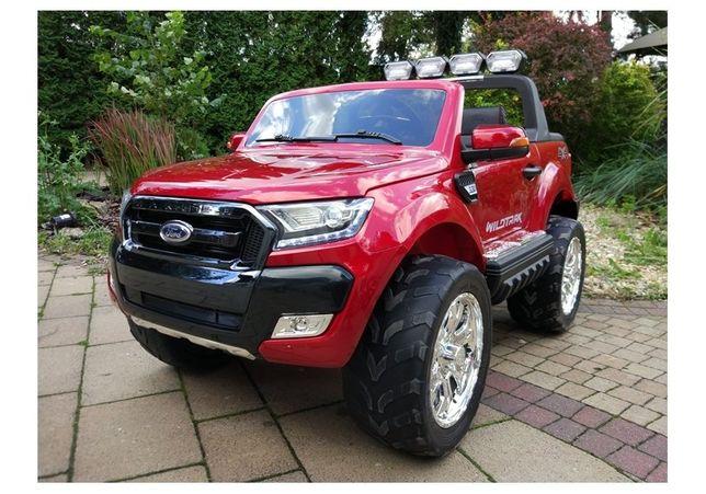 Masinuta electrica Ford Ranger 4x4 PREMIUM 180W #Rosu Metalizat