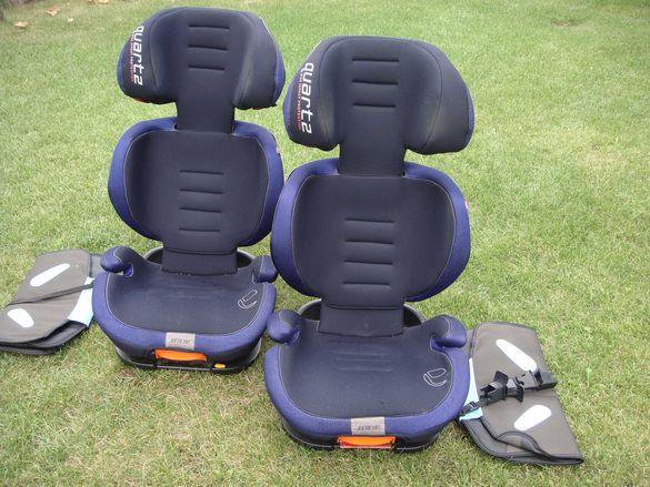2 бр. Детско столче за кола Jane Quartz  (от 3 до 12 г.) 15-36 кг.