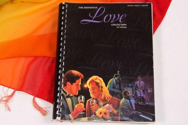 LOVE COLLECTION 107 partituri - repertoriu international, Made in USA