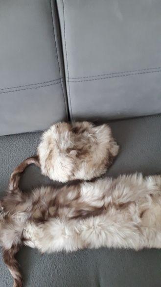 100% естествен косъм Кожени яки от лисица