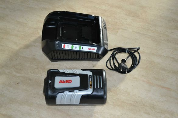 Alko 42v зарядно и батерия за косачка