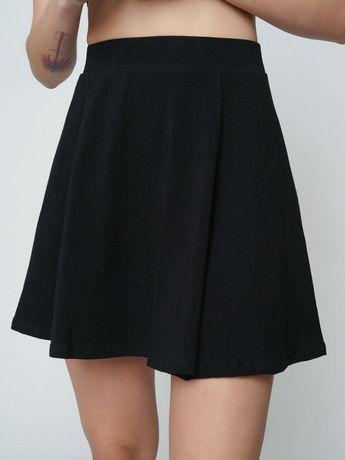 Черная юбка солнышко
