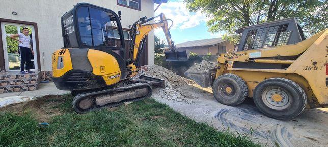Excavator De Inchiriat Sapat Demolare Picon