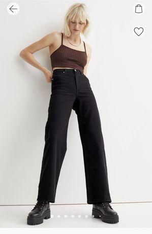 Pantaloni largi de twill 32
