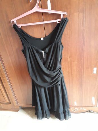 Платье с гафре базовое