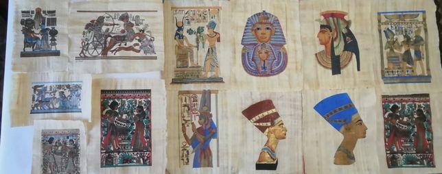 Colectie personala de papirusuri egiptene