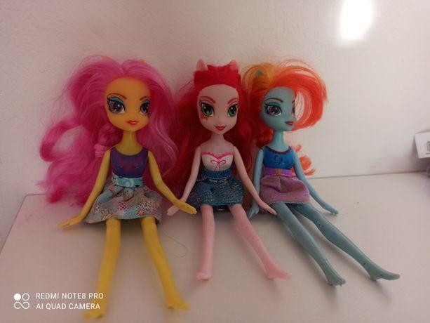 Три куклы вместе