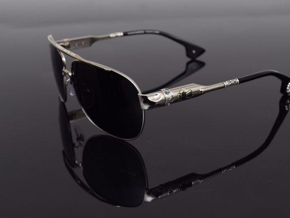 Слънчеви очила Chrome Hearts Buek Silver