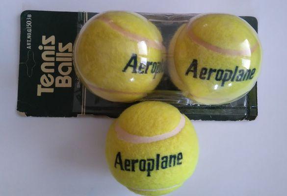 Топки за тенис на корт Аeroplane - нови китайски