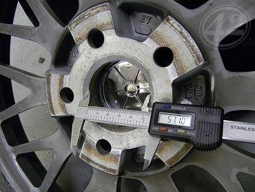 Inele de centrare 66.6-57.1 pentru VW AUDI SKODA SEAT