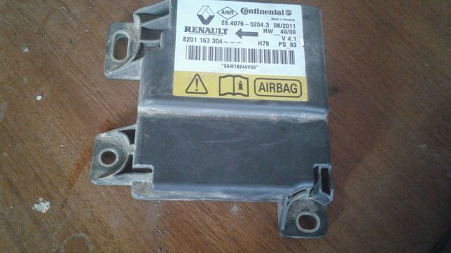 Calculator airbag duster