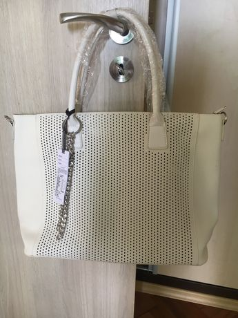 Голяма дамска ръчна чанта от 2 части