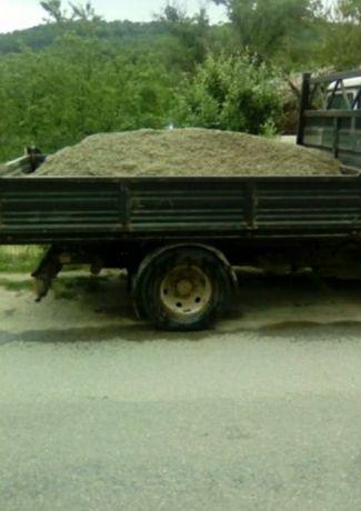 Lemn foc (nisip pietris)sau deseuri sau transport marfă