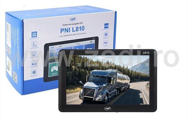 """Gps pni L807 - program camion - ecran mare 7""""-poligoane, firme, adr"""