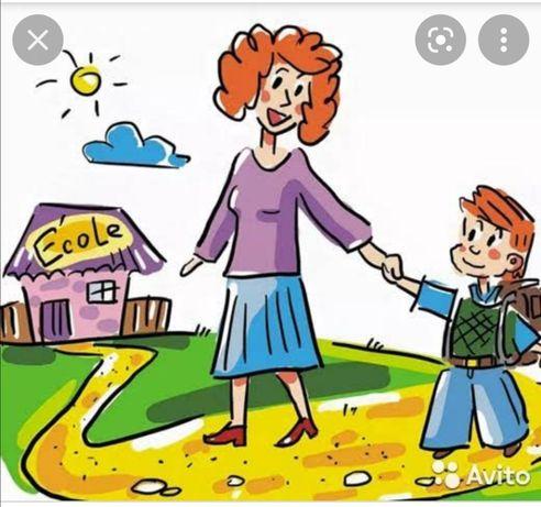 Няня, сопровождение ребёнка в школу
