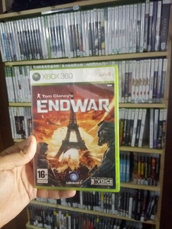 xbox 360 tom clancy end war original+multe alte jocuri disponibile
