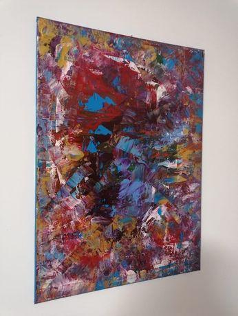 Tablouri abstracte - 50x70 cm - acrilice pe panza