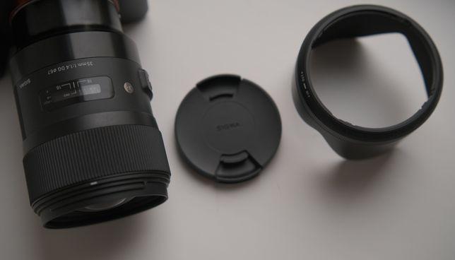 Объектив sigma35 mm 1.4 art