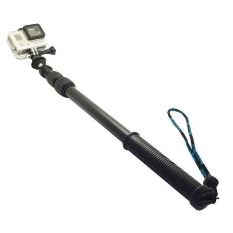 Туристически висок клас монопод селфи стик за екшън камери 75см