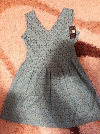 Rochie rochita dama de ocazie mas 40 noua