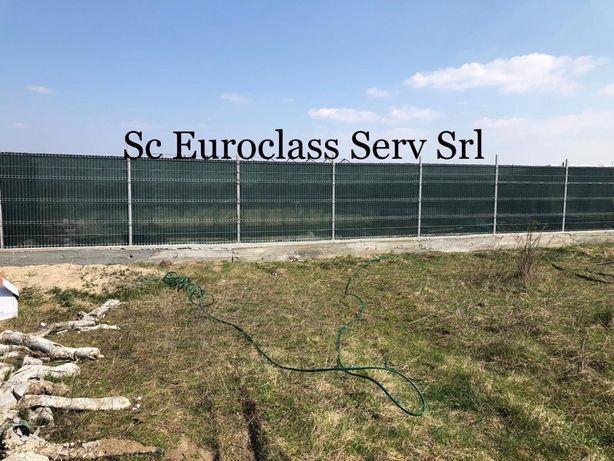 Plasa Verde Pentru Mascarea Gardurilor 1,5x25m si 1.5x50m, 90%Umbrire;
