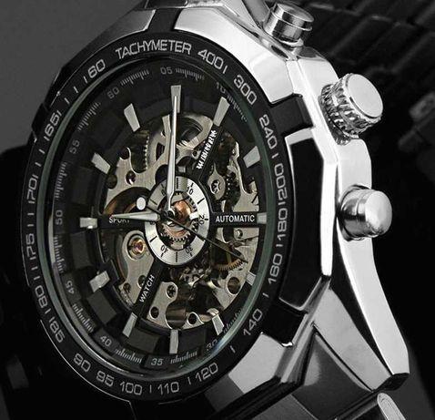 Престижные Мужские Часы Виннер (Winner Luxury)