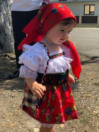 Costum popular complet fete de Maramures