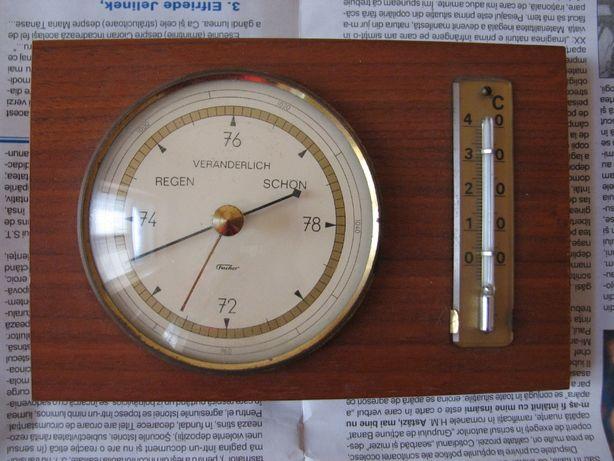 Barometru cu termometru german Fischer