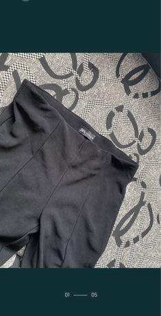 Pantaloni material usor Zara