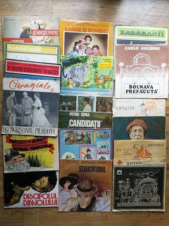 Discuri vinil pick up Povesti Teatru radiofonic M. Eminescu 1001 basme