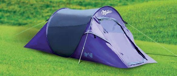 Палатка за къмпинг -нова
