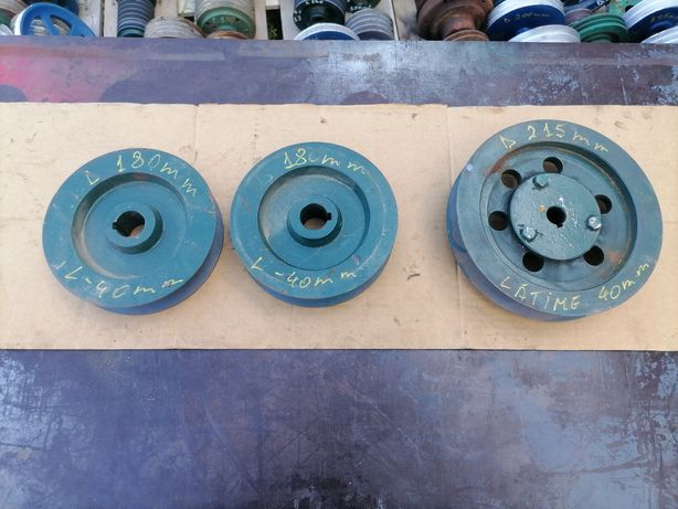 Fulie 215 mm 180 mm curea de 40